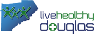 Live Healthy Douglas Logo
